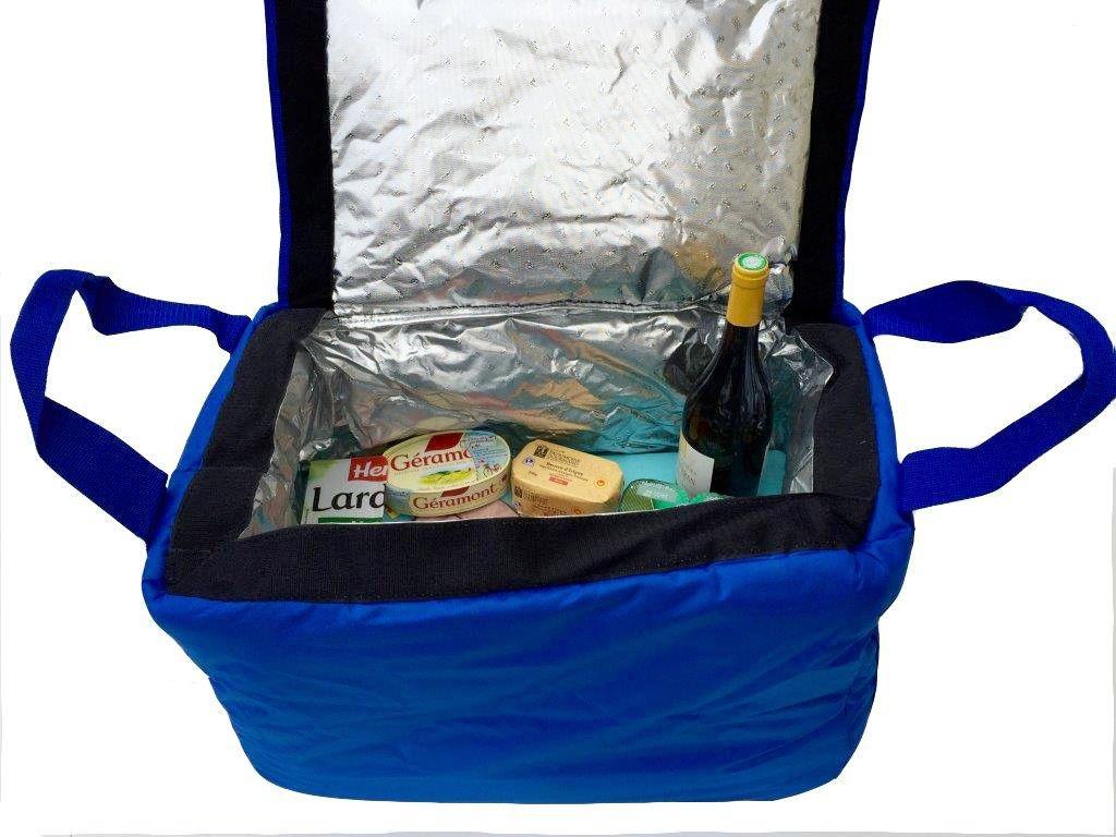 Glacière isotherme souple professionnelle pour produits frais ou surgelés