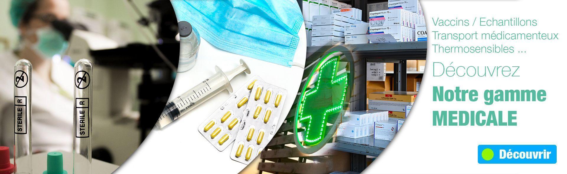 Découvrez notre gamme de produits isothermes pour le milieu médical