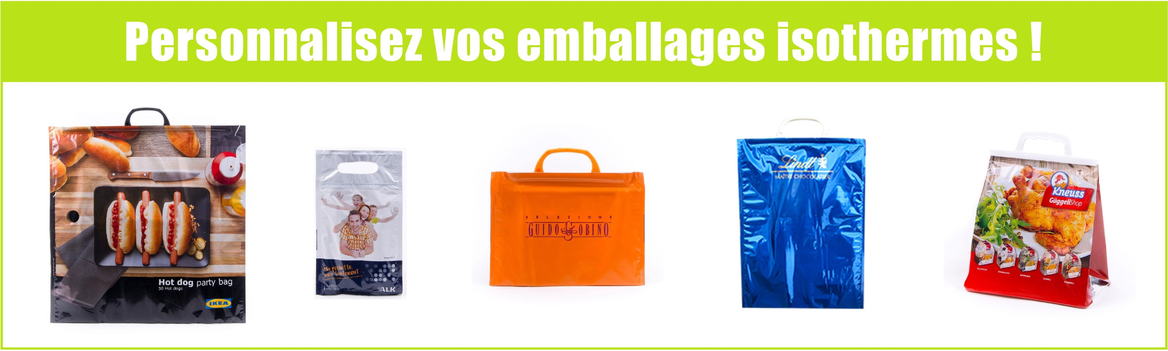 Emballages isothermes personnalisés