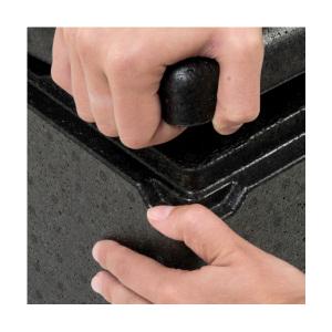 Ouverture facile du conteneur isotherme